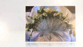 Необычные формы букета невесты