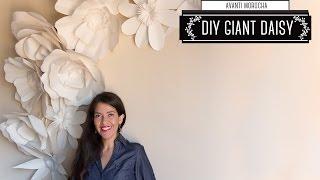 DIY - Giant Paper Flower Backdrop