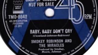 "Smokey Robinson & The Miracles ""Baby Baby Don"