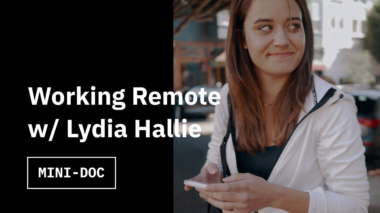 A Day with Remote Software Engineer Lydia Hallie