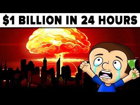 Spend $1 BILLION Dollars In 24 Hours - Challenge