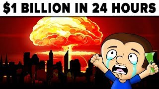 Spend $1 BILLION dollars in 24 hours - challenge