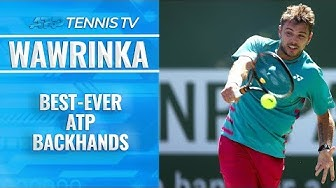 Stan Wawrinka: Best-Ever ATP Backhands