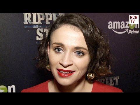Charlene McKenna   Ripper Street Series 3 Premiere