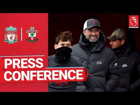Jürgen Klopp's pre-match press conference   Southampton