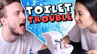 DIRTY TOILET TROUBLE (Squad Vlogs)