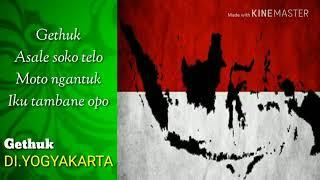 Gambar cover Lagu terasa keliling Indonesia    Medley lagu daerah 34 Provinsi (Video & Lirik)