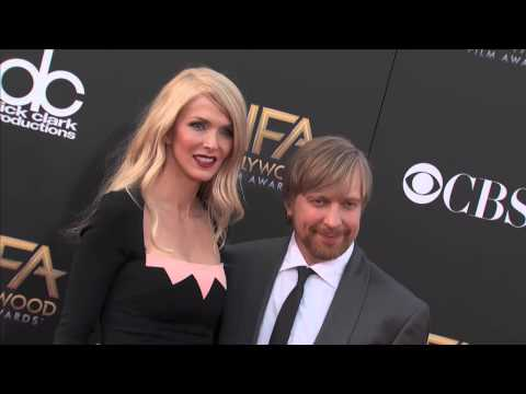 Morten Tyldum and Wife Janne Tyldum Red Carpet Fashion  Hollywood Film Awards 2014