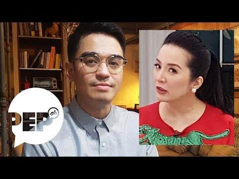 Nicko Falcis on Kris Aquino: 'I saw my own funeral. She killed me.'