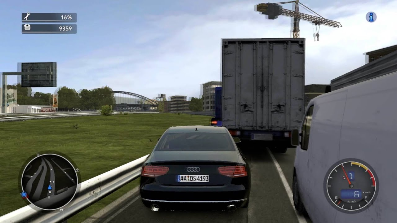 Cobra 11 Crash Time 4 Das Syndikat Audi A8 W12 Mod