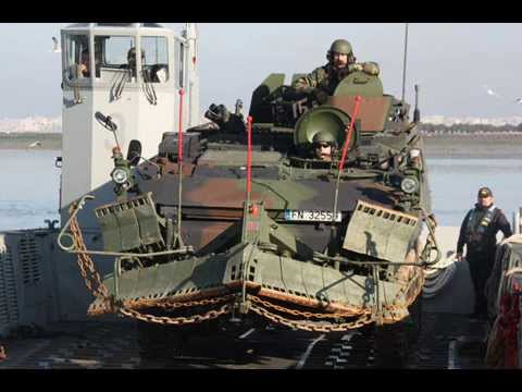 Mowag Piraña de la Infanteria de marina española