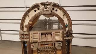 1947 Wurlitzer 1015 Jukebox Barn Find Restoration.
