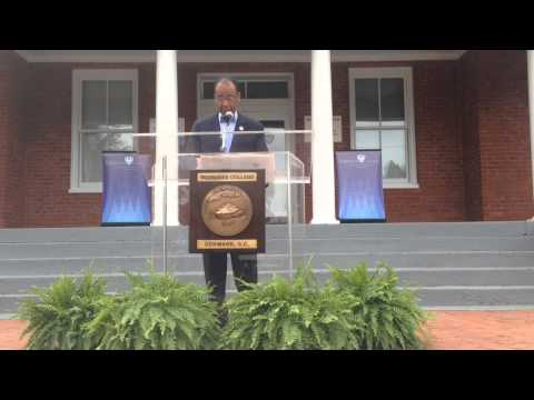 VIDEO: Civil Rights Activist Cleveland Sellers Steps Down