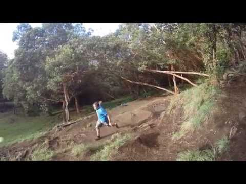 Frisbee Golf at Up Country course or Poli Poli, Maui