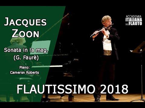Jacques Zoon - Sonata in la mag op 13 G. Faurè