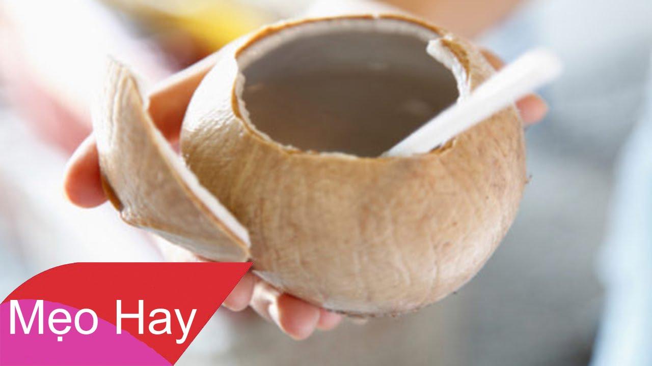 Uống dừa khi đói trong 7 ngày, nhận ngay 10 điều kì diệu
