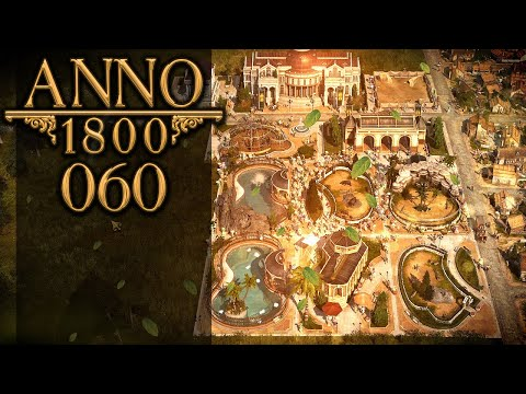 ANNO 1800 🏛 060: Zootiere & Zollbeamtin