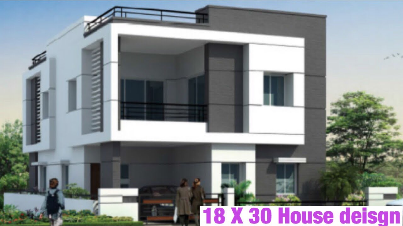 18 X 30 , 5m x 9m , House design , Plan Map , 60 Gaj Ka Ghar Ka Nakhsha ,  With Interior And 3D