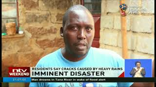 Formation of deep rifts on the ground and in houses cause panic in Muranga