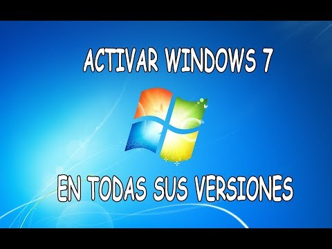 Activar Windows 7 y volverlo ORIGINAL