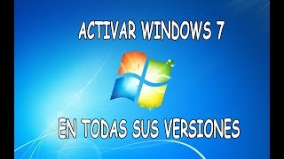 Activar Windows 7 y volverlo ORIGINAL(, 2015-08-27T14:11:27.000Z)