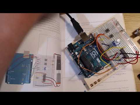Sofox Tries The Arduino Starter Kit - Chapter 10 - Zoetrope