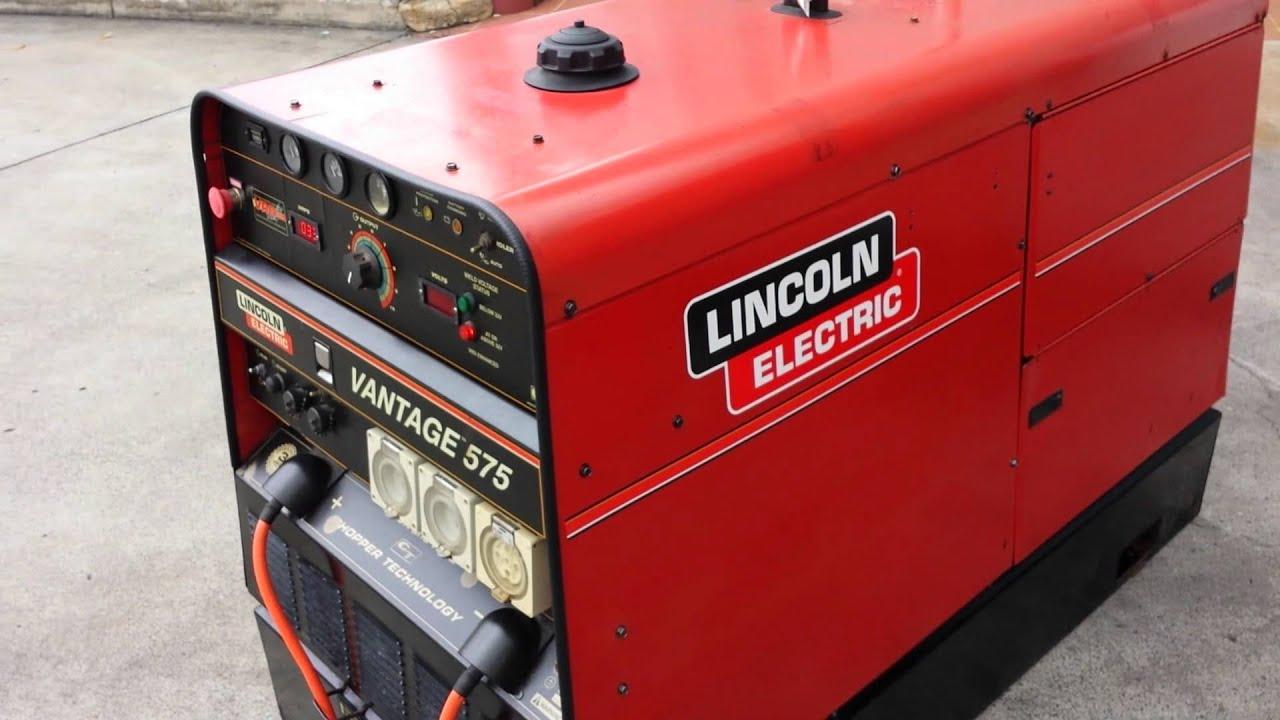 Lincoln Vantage 575 Diesel Driven Welder Generator