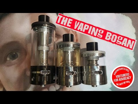 Steam Crave Aromamizer Plus 30mm RDTA | ModFather Killer? | The Vaping Bogan