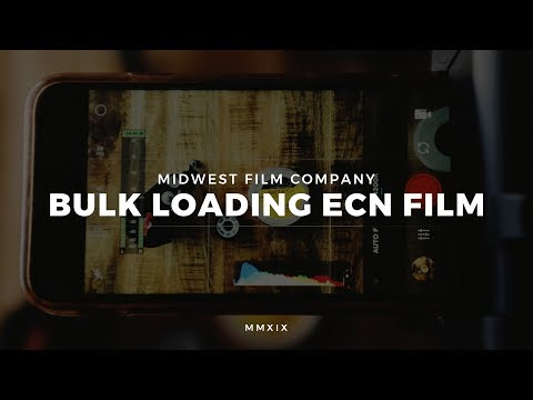 Bulk Loading Kodak ECN2 Motion Picture Film For Still Photography