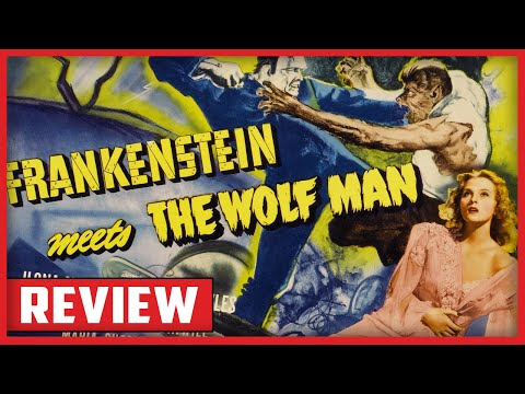 Horror 101 (Two Guys Review) Frankenstein meets the Wolfman