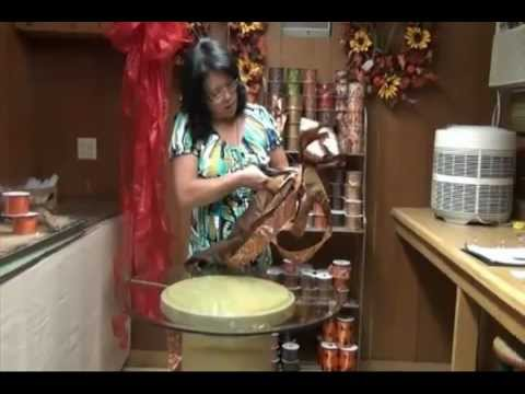how to create a decorative bow youtube. Black Bedroom Furniture Sets. Home Design Ideas