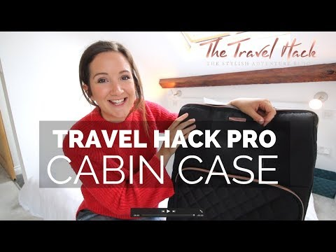 The Travel Hack Pro Cabin Case: Is this the best hand luggage suitcase ever?