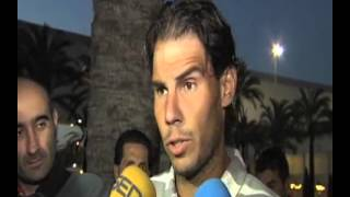 Rafael Nadal was spotted at Palma de Mallorca airport on March 20, 2013