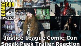 Justice League - Comic-Con Sneak Peek Trailer Reaction - AlphaOmegaSin