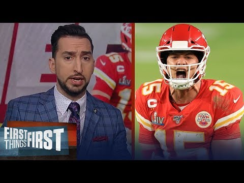 Patrick Mahomes has one of the top 3 QB playoff runs ever — Nick Wright | NFL | FIRST THINGS FIRST