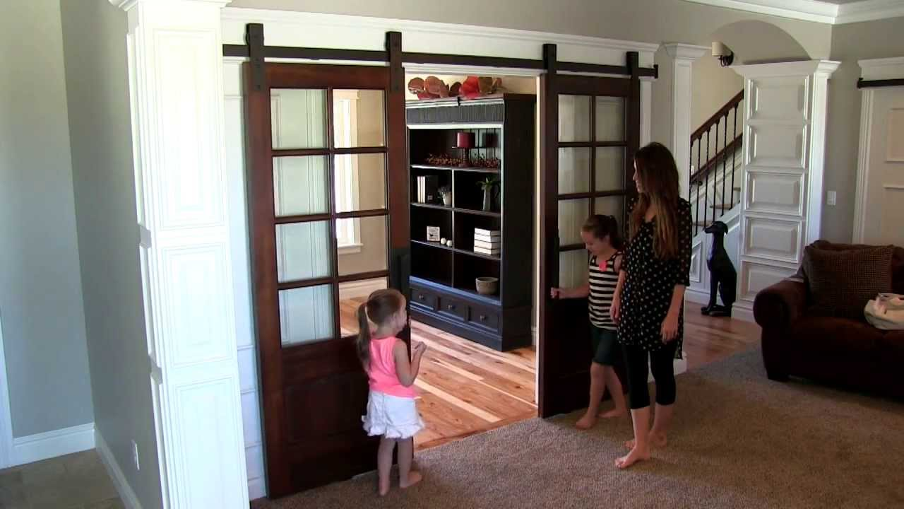 Basin Custom Interior Barn Door Demonstration