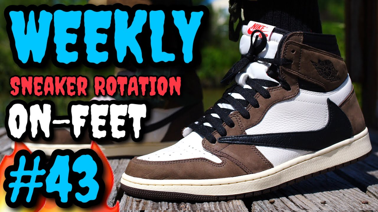 new concept db210 76fb0 WEEKLY SNEAKER ROTATION ON FEET #43 WE GOT HEAT! What I Wore Ft. NIKE &  ADIDAS #NUMEROCUARENTAYTRES