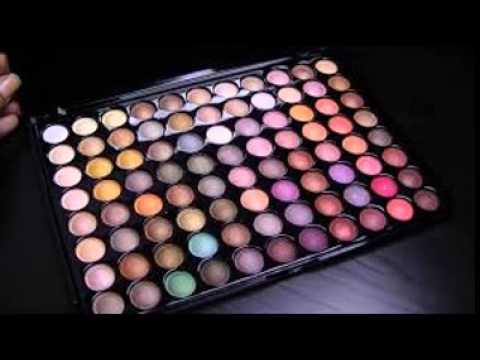 Metallic Eyeshadow Palette - YouTube