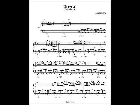 Greyson Dax Johnson Sheet Music Piano Cover