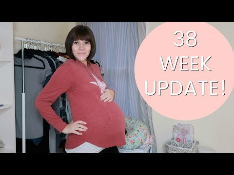 38 WEEK PREGNANCY UPDATE  Insomnia Guilt and Baby Buys