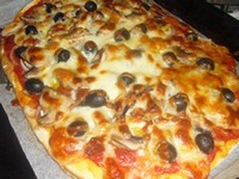 recette des pizzas maison sans robot