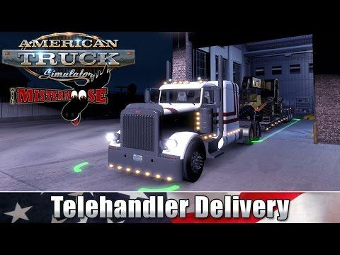 American Truck Simulator | Telehandler Delivery | Nogales to Flagstaff