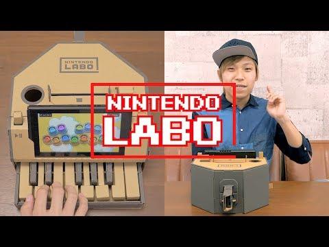 NINTENDO LABO × BEATBOX Mario / ニンテンドーラボ × ビートボックスでマリオやってみた!