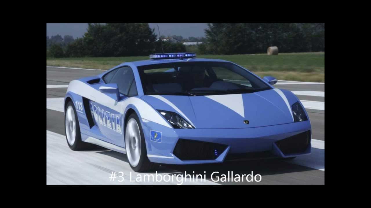 Top 10 Coolest Police Cars In The World Youtube