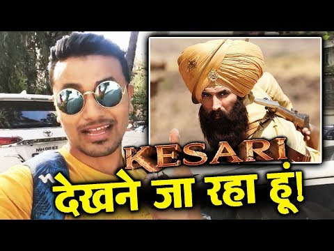 KESARI Movie Excitement | Akshay Kumar, Parineeti Chopra