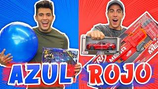 24 HORAS COMPRANDO TODO AZUL Y ROJO !!