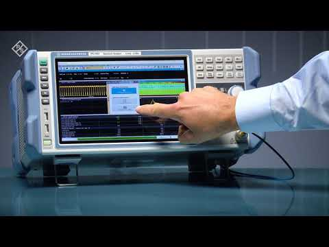 The R&S®FPL1000 spectrum analyzer analyzes NB-IoT signals