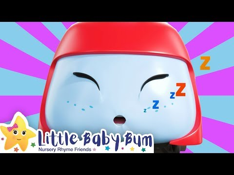 Buster and The Sleepy Train Song + More Nursery Rhymes & Kids Songs - Little Baby Bum | Go Buster