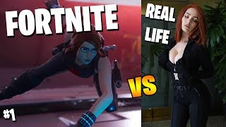NUOVO FORTNITE THICC SKINS IN REAL LIFE!! [#1]