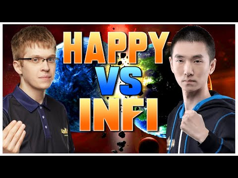 Grubby   WC3   HAPPY vs INFI - Cast